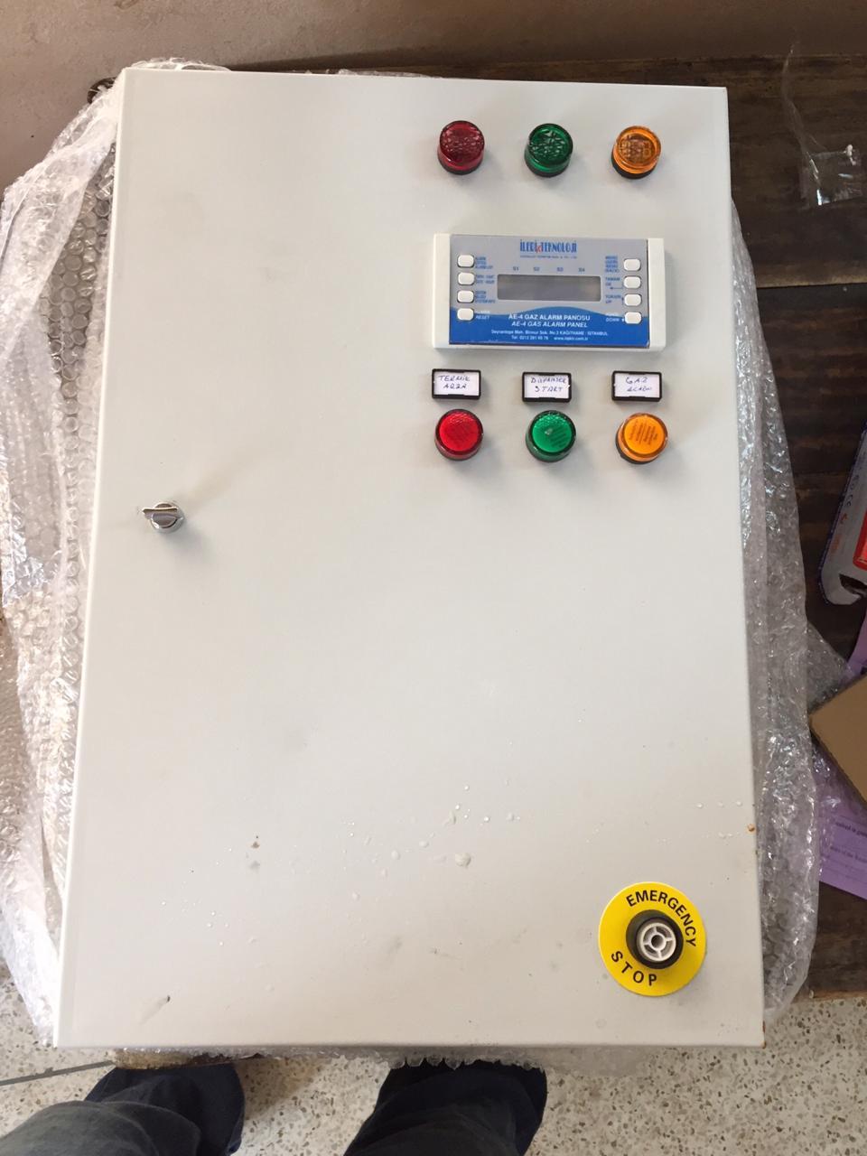 LPG Control Panel