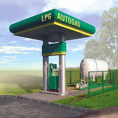 LPG Auto Gas Station